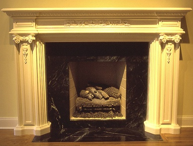 Fully Restored Masonry Fireplace-Tribeca NYC
